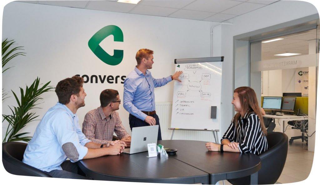 Conversal marketing room